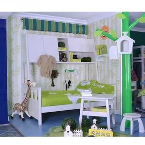 2014 Modern Multi-Functional Bed With Bookcase Kids Cars Bunk Beds Sp-Sc011