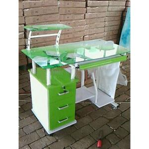 Modern Tempered Glass Computer Desk With Low Price