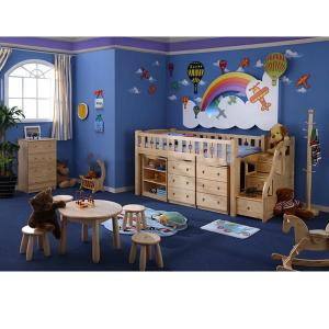 Modern Kids Bedroom Furniture With Cabnites