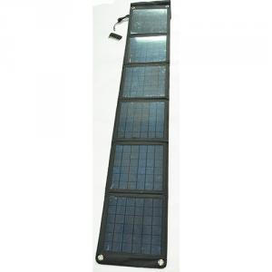 China Factory High Quality Smartphone Foldable Solar Charger Dual USB 5V 18V Mobile Solar Charger 2100mah 2500mah