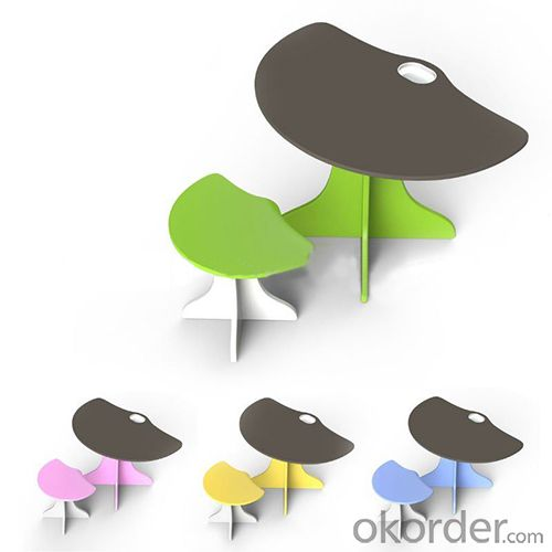 3d tree shape catoon children table