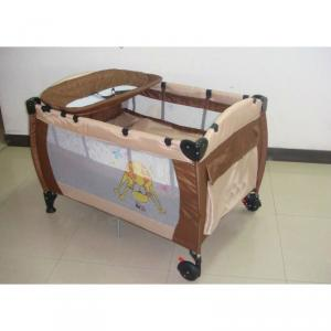 Simple Baby Playpen Brown