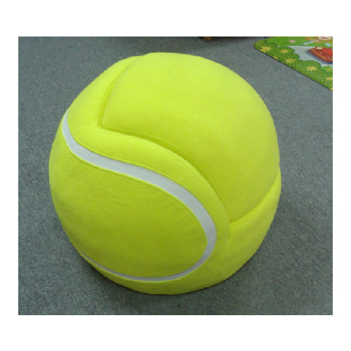 Tennis Shape Children's Sofa Used for Home and Outdoors