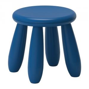 Kids' Plastic Classical Stool with Four Legs and Customized Color