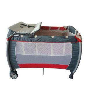Aluminum Grey Baby Playpen