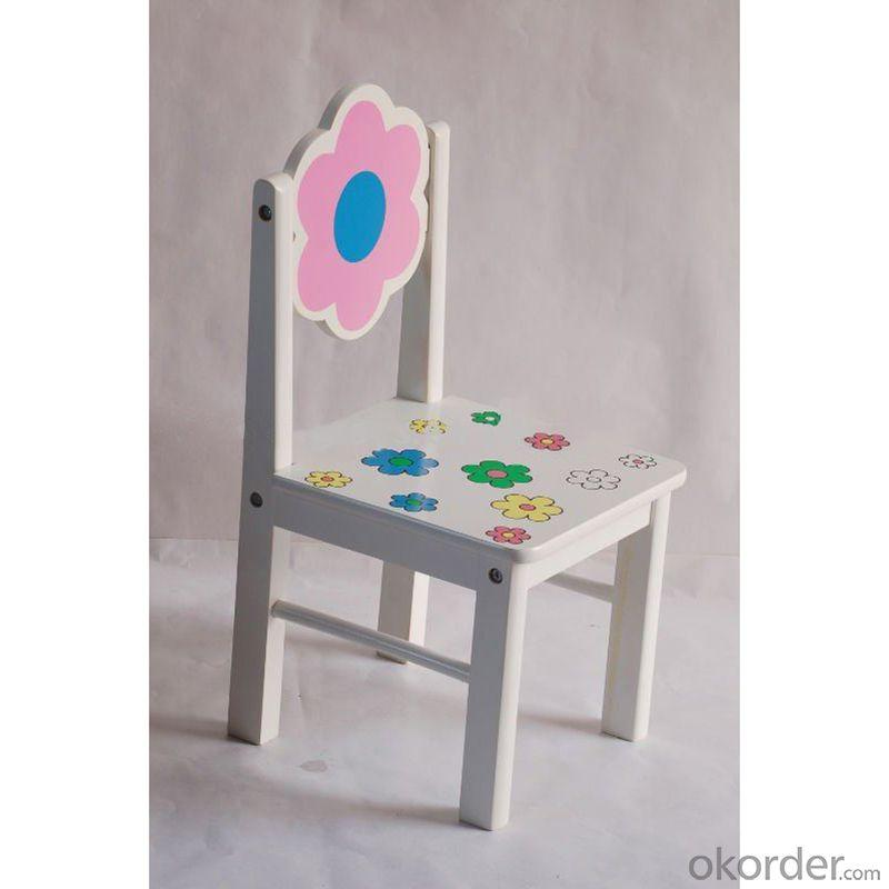 Flower Style Children's Table Chair Set with Ergonomic Design