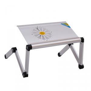 2014 Hot Sale Bed Desk For Laptop Tablet Folding Table With Fan Adjustable Height Children Table