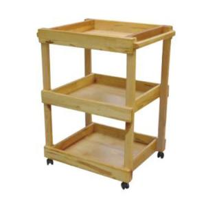 Kids' Wooden Storage Toy Cabinet Used for Kindergarten and Home