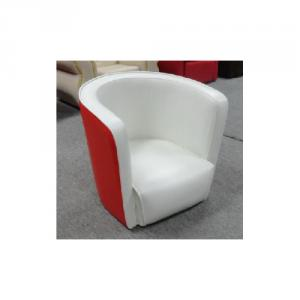 Comfortable Chilren's Sofa Eco-friendly PVC Material Bright Color