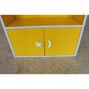 Pure Color Children's Cabinet Environmental Material Space-saving