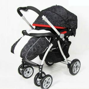 C238 Three Wheels Baby Stroller Black