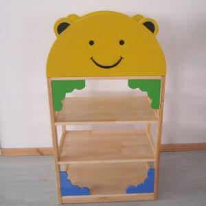 Bear Shape Wooden Cabinet for Children Durable High Quality