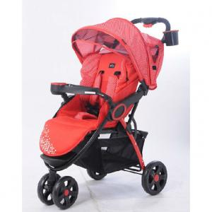 C238 Three Wheels Baby Stroller Red