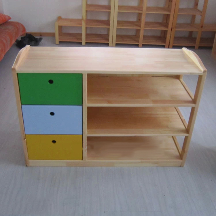 Buy Colorful Kids Cabinet For Toy Storage With Drawer