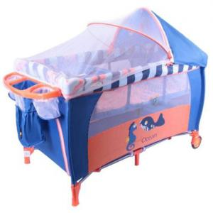 Luxury Foldable Baby Playpen With Mosquito Net