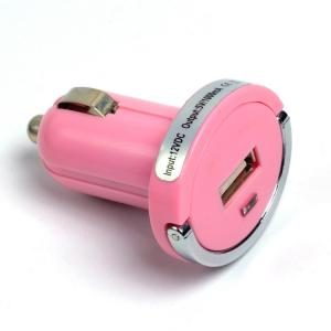Car Charger for Smart Phones/MP3 Players/E-Cigarette/Camera with Dual USB Port with  Vibration Reliability