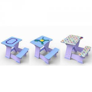 Customizable Student Study Desk Children Table/Kids Furniture and Chair Set Cartoon