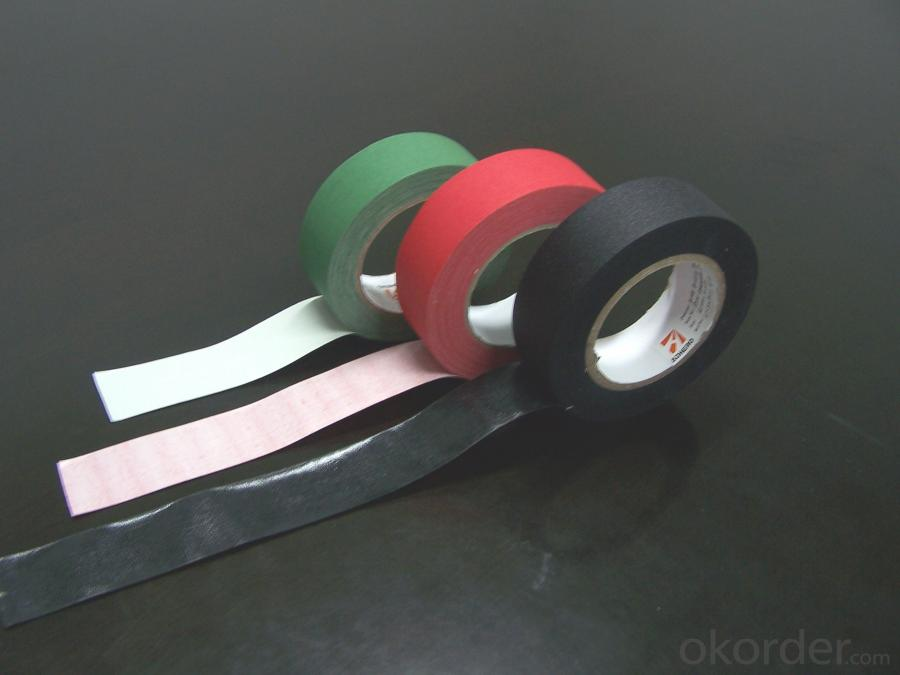 Colored Cotton Tape With Standard Adhesion