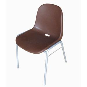 Cute Plastic School Chair with Multiple Bright Color Comfortable and Durable