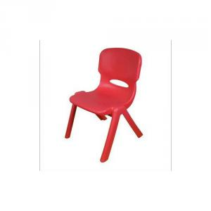 Comfortable Children's Chair with Powder Coating Steel Frame Customized Color