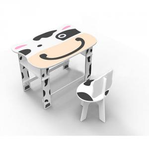 MDF Children Preschool Furniture/Students Study Table in Cartton Cowabunga Pattern Wood