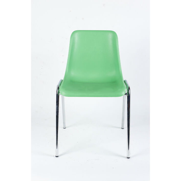 PP Plastic Children's Chair with Metal Frame Used for Home and Outdoor