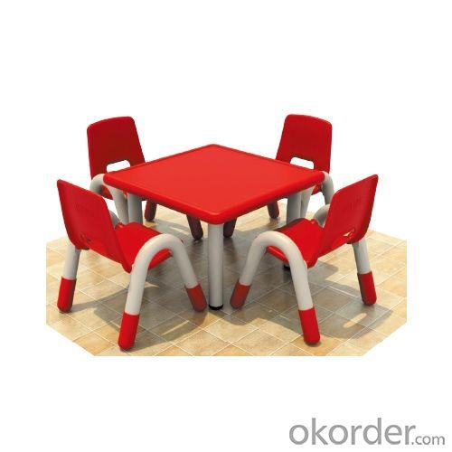 Adjustable Children Desk And Chair With Six Seats