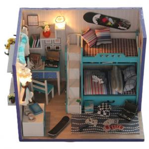 Diy Wooden Doll House, Miniature Wood Crafts Houses, Adult Wooden Doll Houses