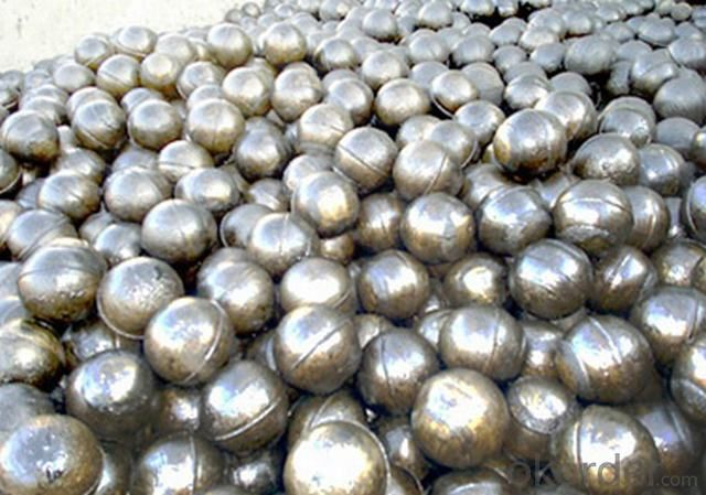 High Chromium Cast Grinding Ball made in China with Top Quality Steel as Raw Material for Mines and Cement Plant
