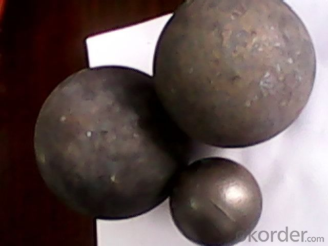 Forged Steel Grinding Ball with Supper Hardness apply for all kinds of Mineral Processing