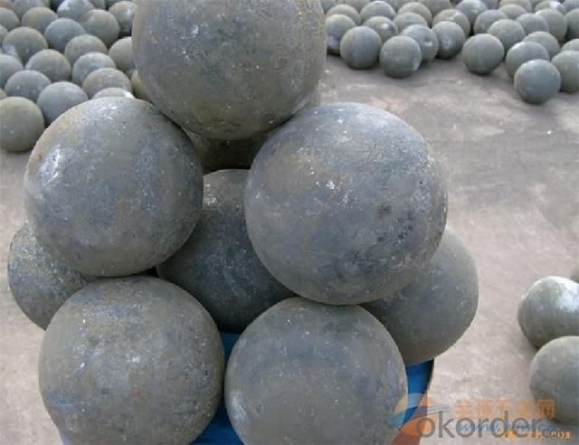 Top Quality Forged Grinding Balls For Cement and Mine