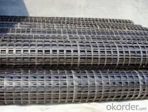HDPE Uniaxial Geogrid for Retaining Walls and Slops