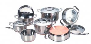 8pcs Stainless Steel Cookware Sets