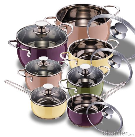 CNBM BELLY SHAPE COOKWARE