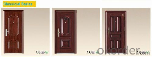 Iron Steel Security Door Manufactory Good Quality
