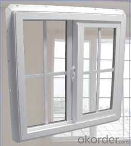 PVC Sliding Window /Hung /Casement window with Double Glass