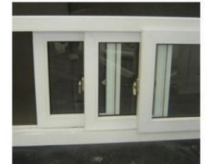 Plastic Window and Door with Double and Triplex Glass Factory
