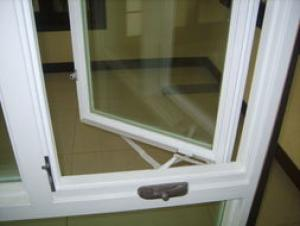 PVC Casement Window with CE ISO and Direct Factory