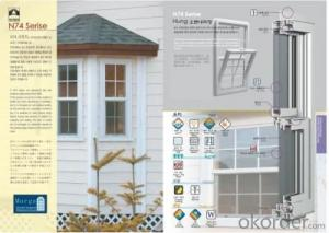 PVC Window and Door Profile N74 ,80,120Series