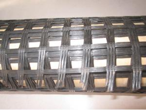Bitumen Coated Fiberglass Geogrid with High Tensile Strength for Reinforcement