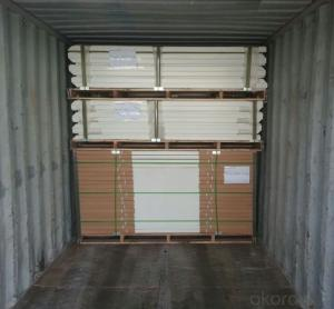 PVC Film Wooden Security Door with Good Quality