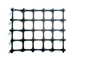 PP Biaxial Geogrid W*L3.95*50m/roll for Soil Reinforcement and Civil Engineering Project