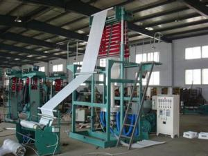 SJ-FMD1300-3000 Rotary Die Double Rewinder Blown Film Machine