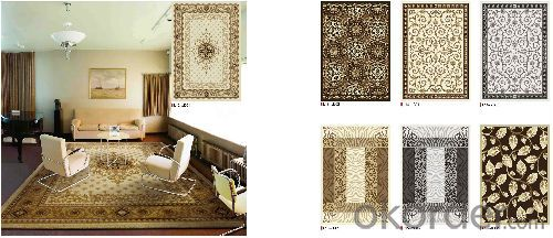 PP Woven Jacquard rugs , carpet and Rugs