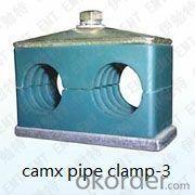 concrete pump high pressure pipe clamp