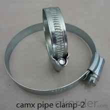galvanized stainless steel pipe clamp
