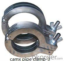 snap concrete pump pipe clamp coupling