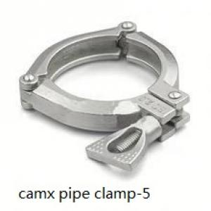 galvanized pipe clamp with welding nut