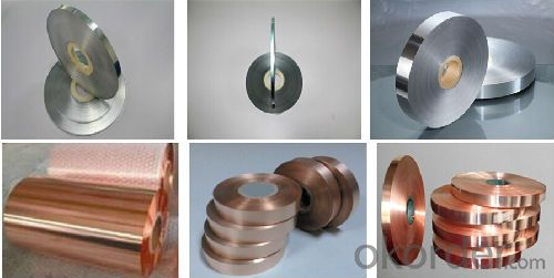 Shielding Copper Polyester Foil for  Coaxial Cables