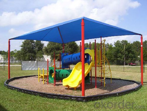 Playground  Awining Shade Sail and for House or Playground Kindergarden